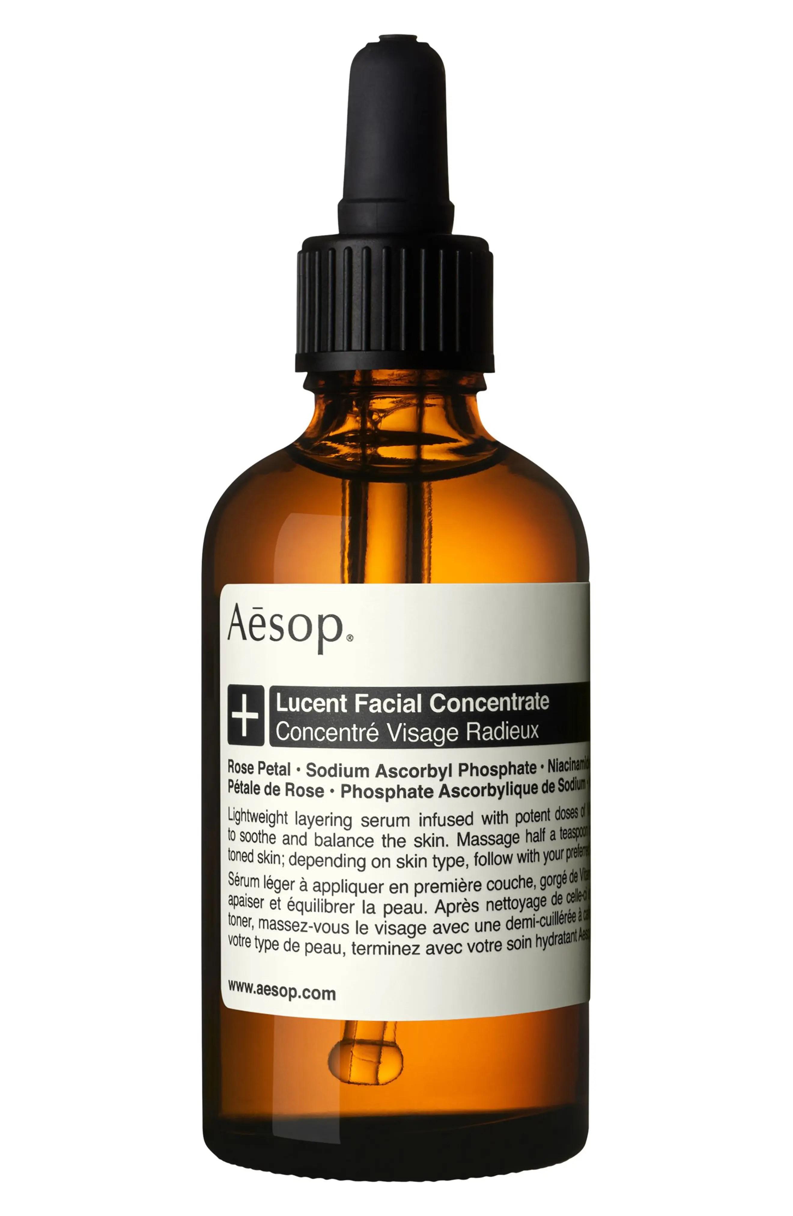 AESOP Lucent Facial Concentrate, Main, color, NO COLOR