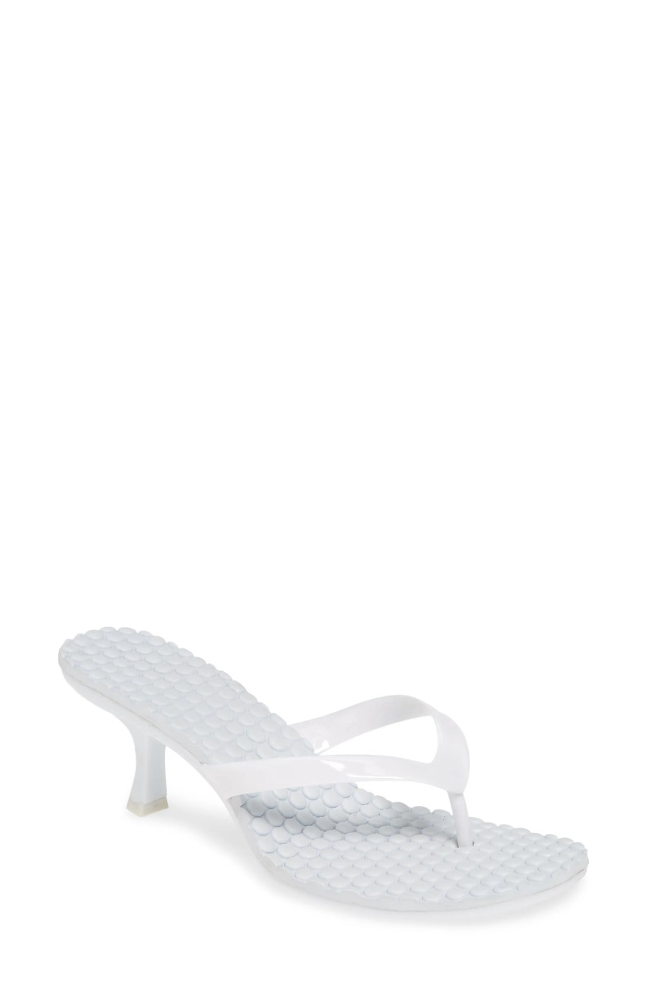 JEFFREY CAMPBELL Thong 2 Slide Sandal, Main, color, WHITE
