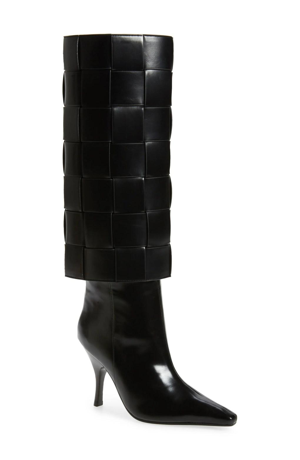 Jeffrey Campbell Skelter Knee High boots.