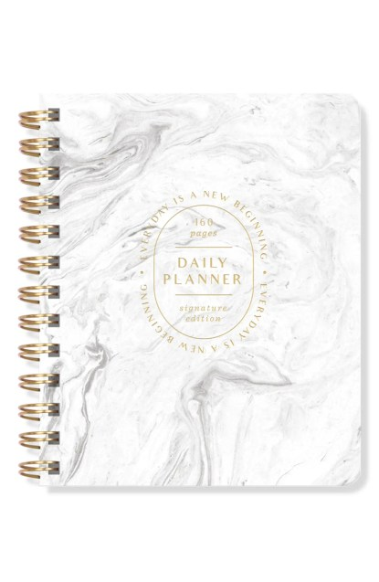 Fringe Studio Daily Perpetual Planner, $17