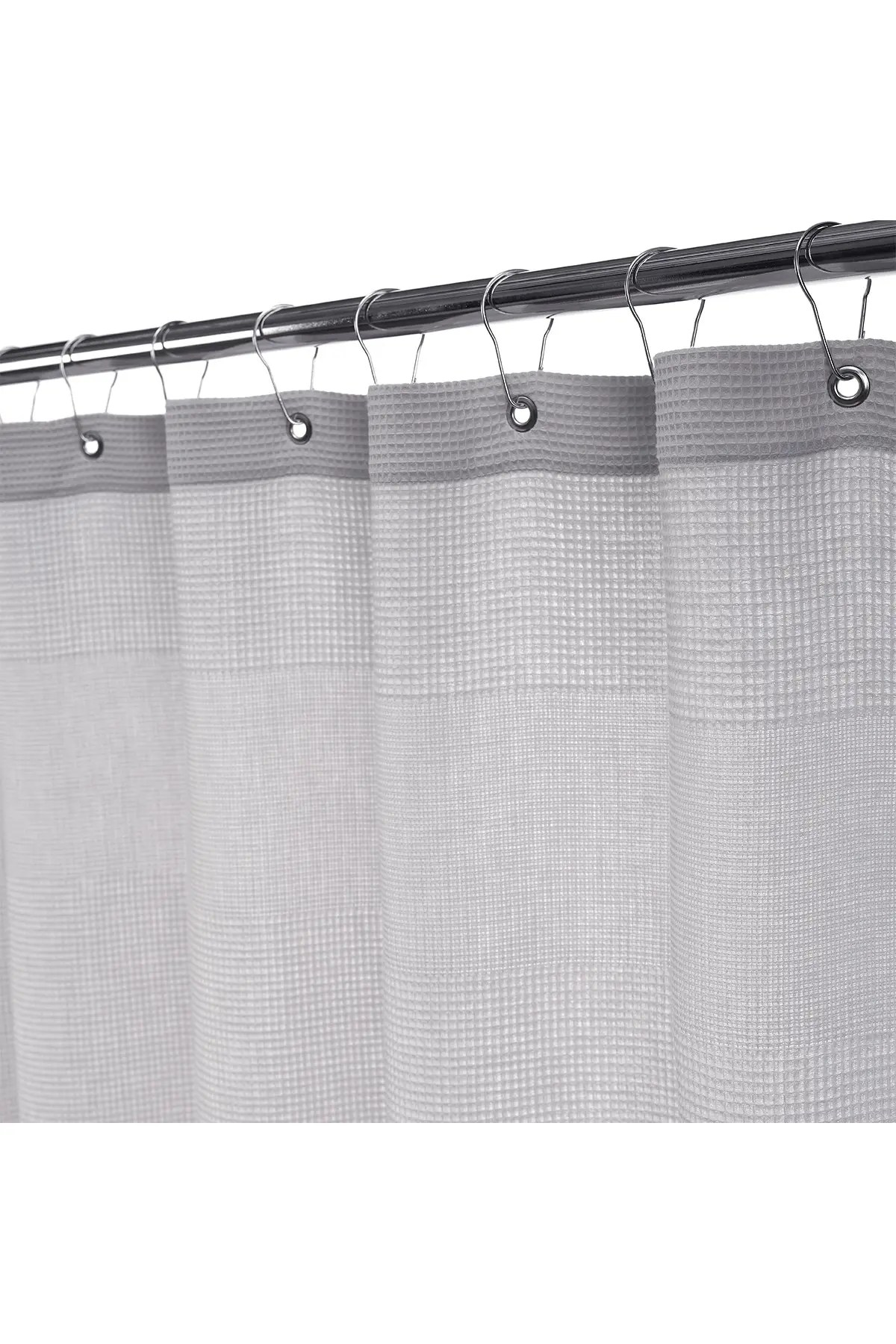 enchante home ria turkish cotton shower curtain silver nordstrom rack