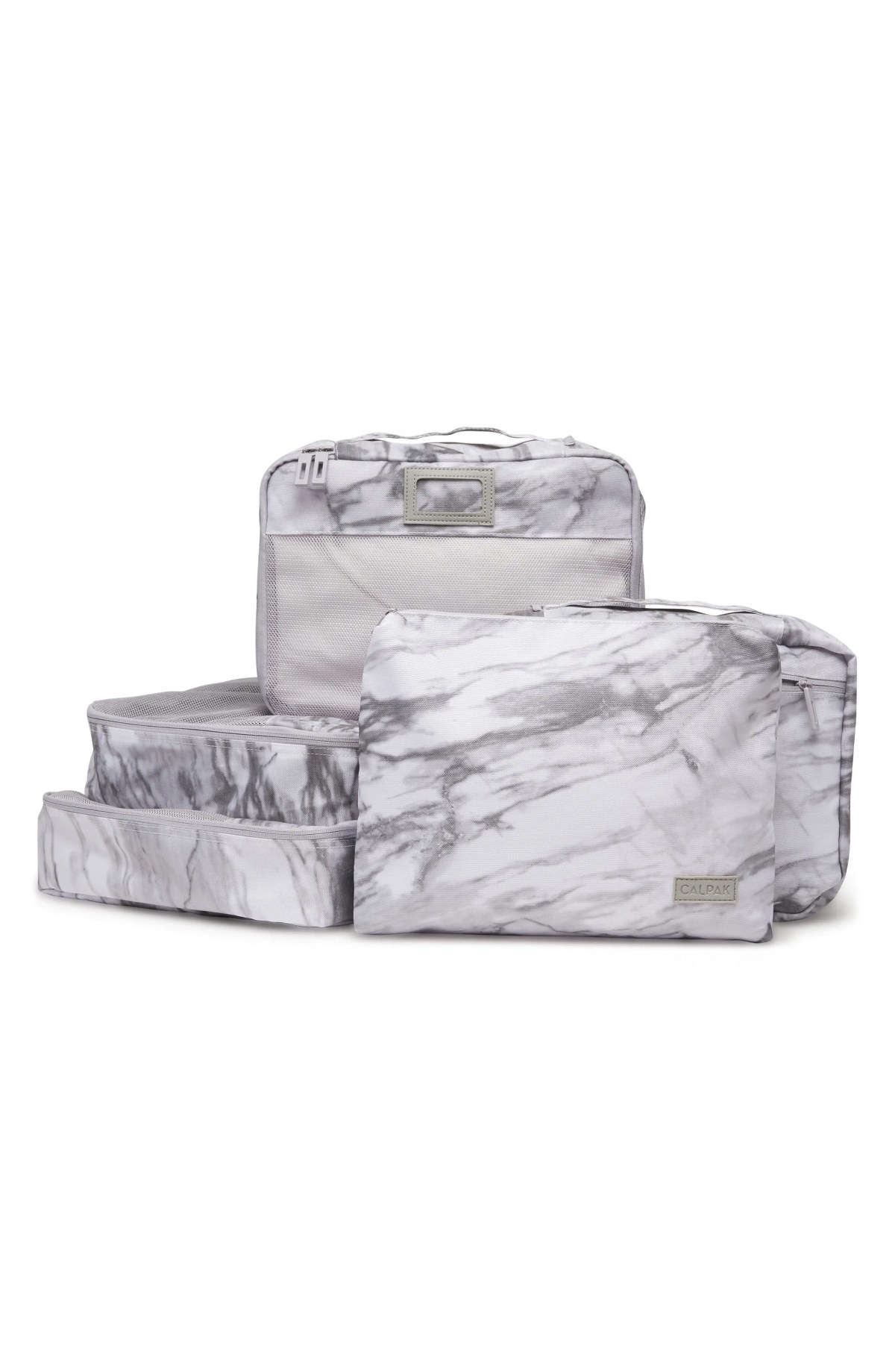 CALPAK 5-Piece Packing Cube Set, Main, color, MILK MARBLE