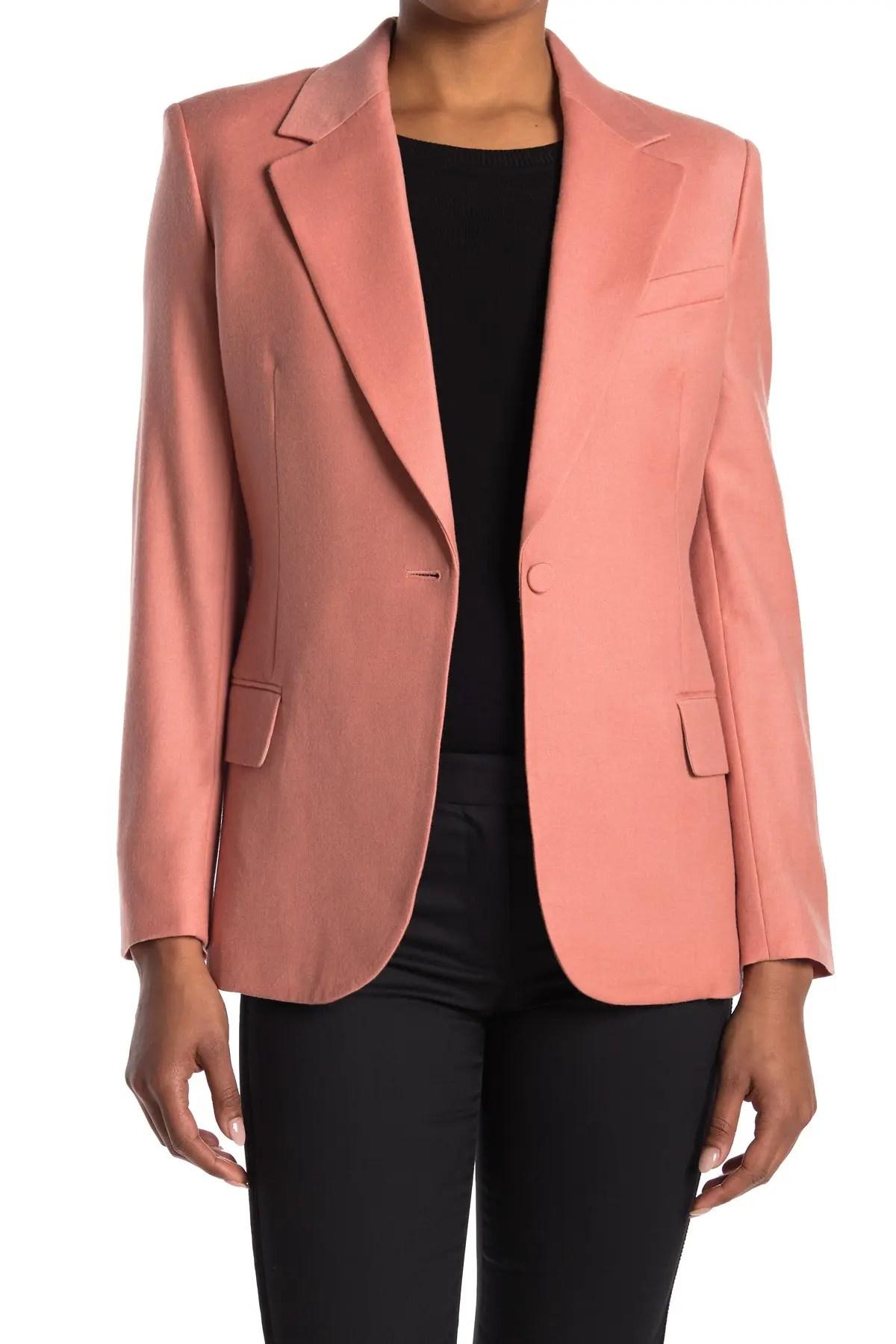 sleek fitted blazer