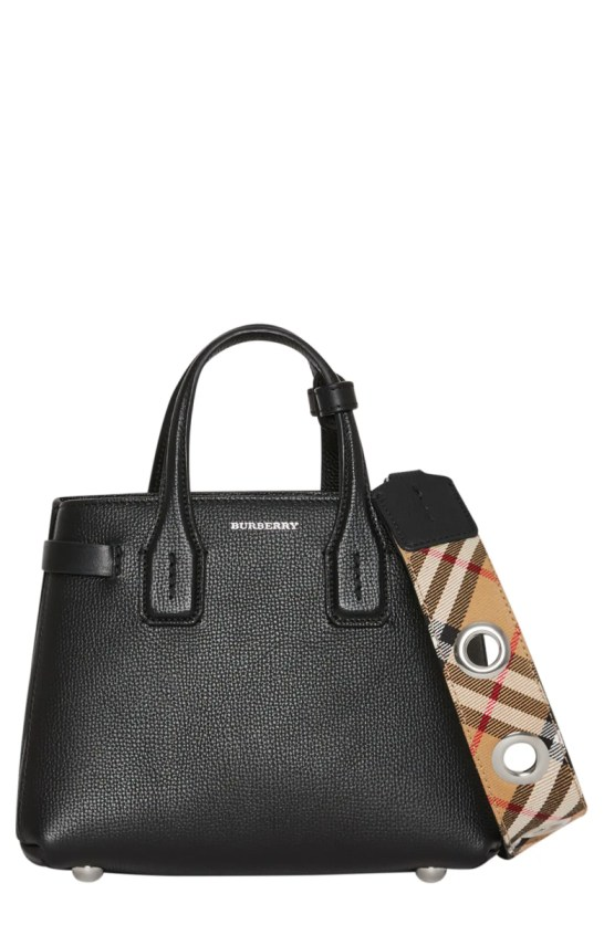Burberry Baby Banner Leather Satchel Nordstrom