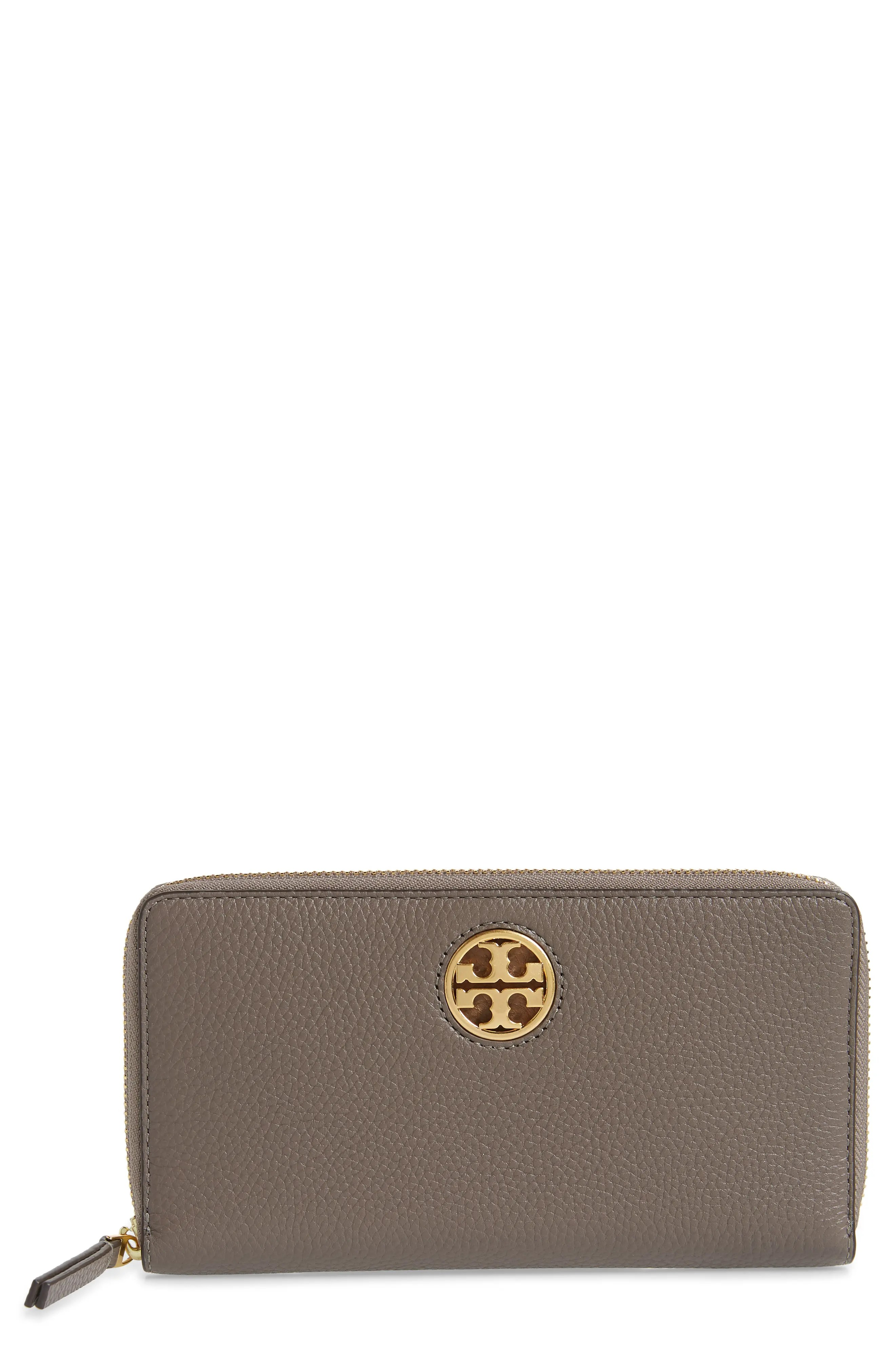 tory burch tory carson zip leather continental wallet nordstrom rack