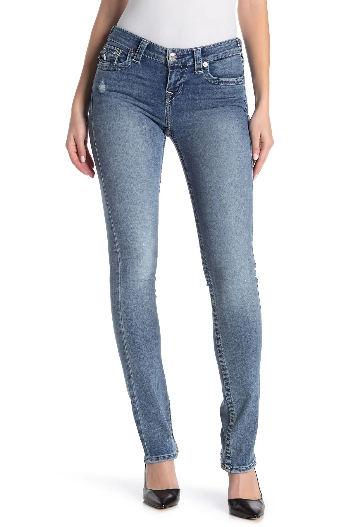 true religion billie flap pocket mid rise straight jeans nordstrom rack