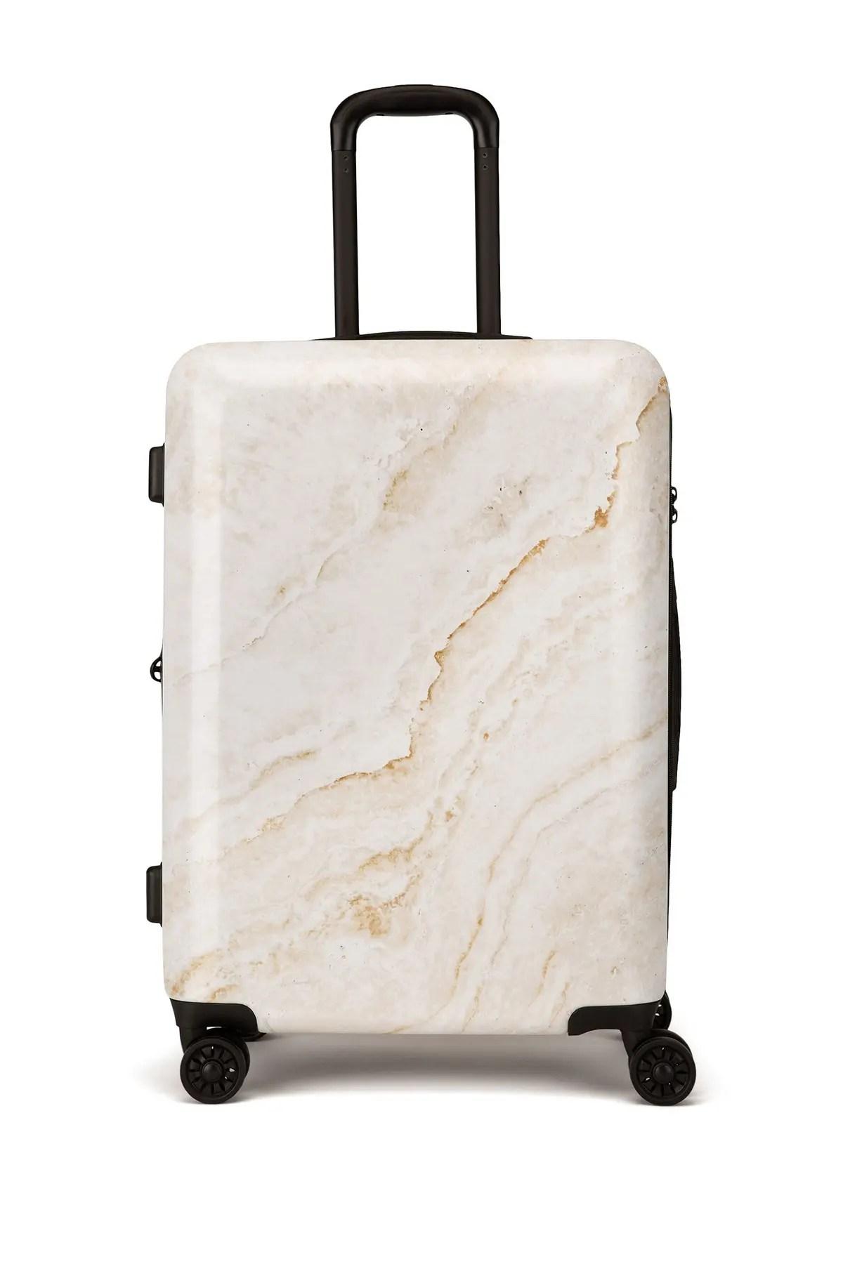 calpak luggage gold marble medium hardside luggage nordstrom rack