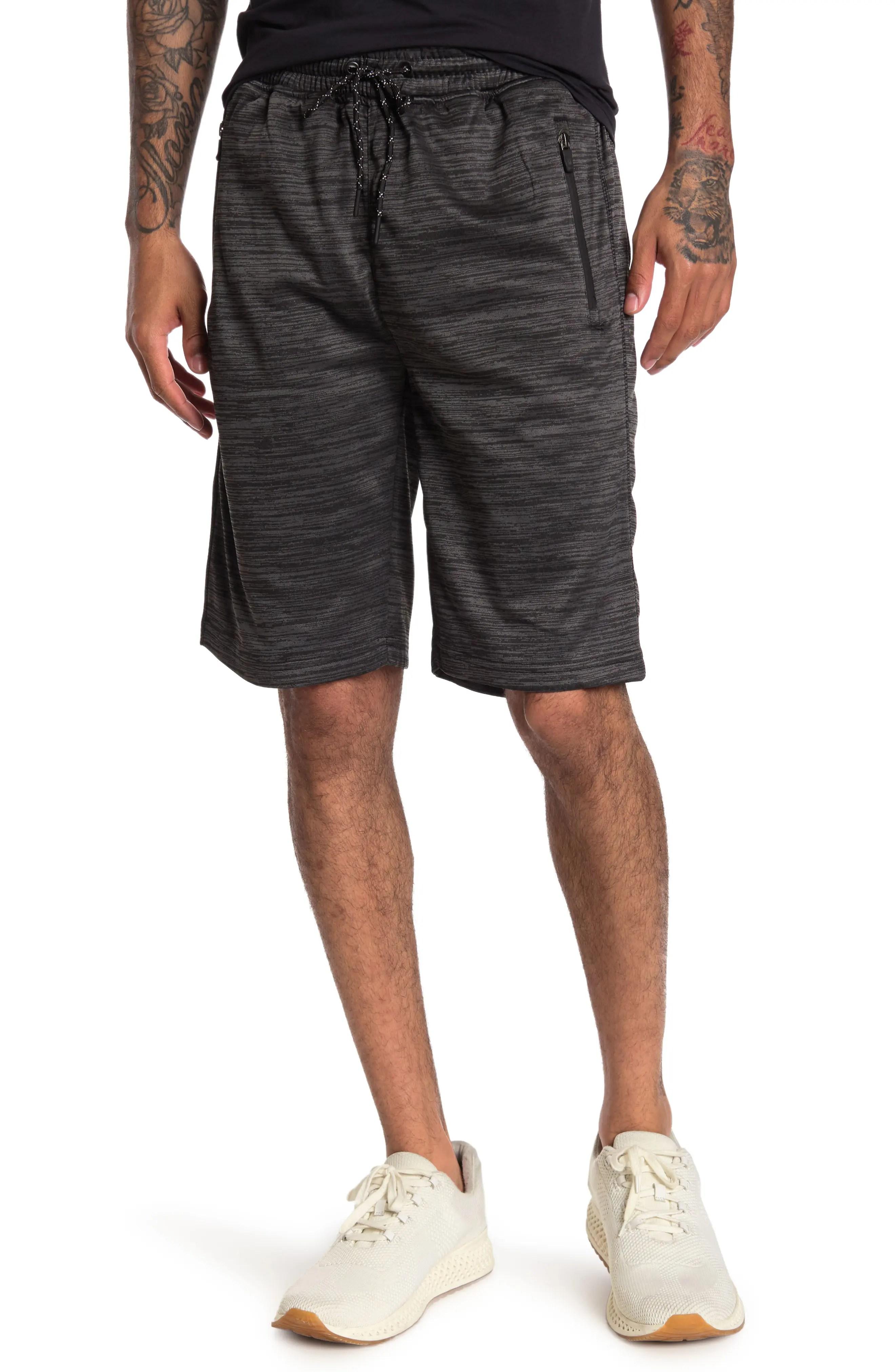 mens fleece short