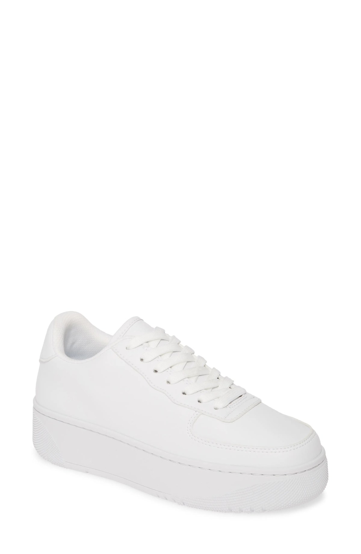 JEFFREY CAMPBELL Court Sneaker, Main, color, WHITE WHITE