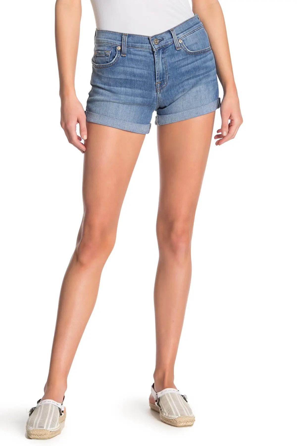 roll up cuffed shorts