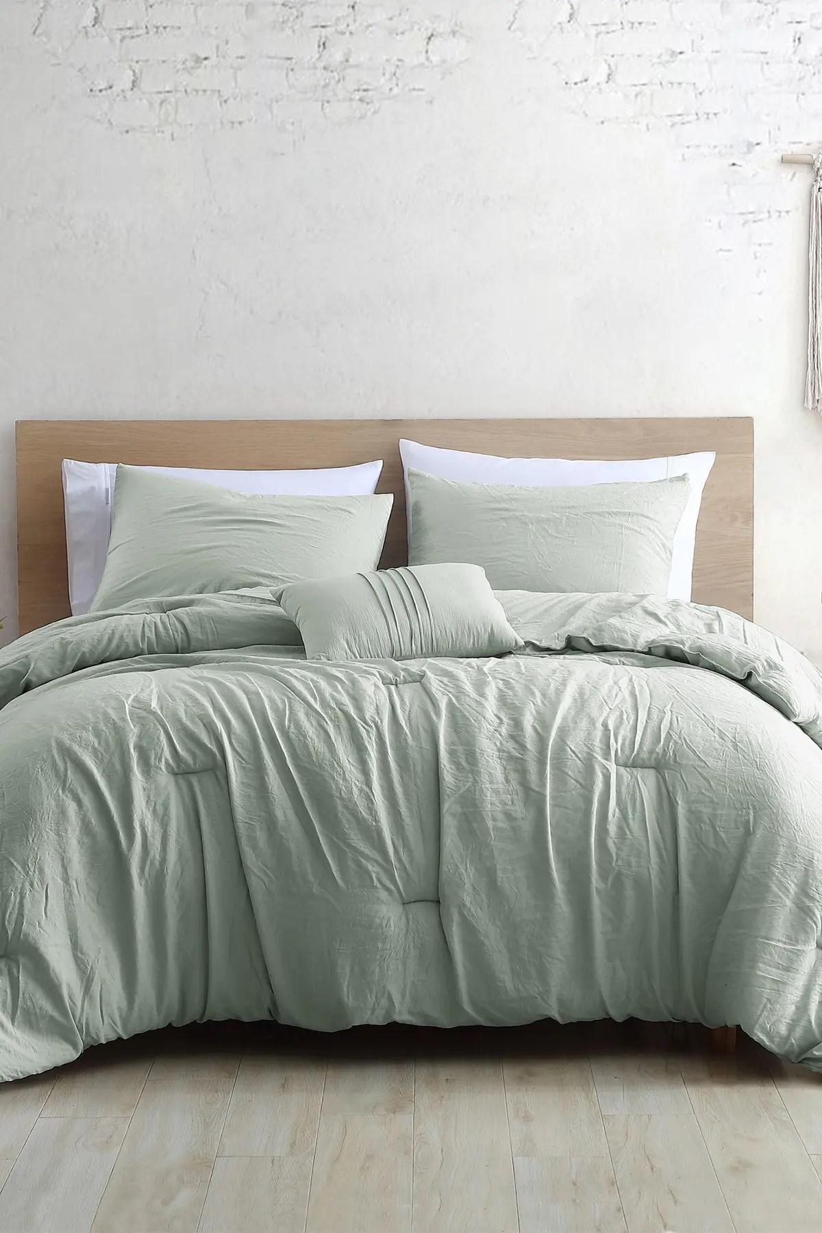 modern threads 4 piece garment washed comforter set beck spa queen nordstrom rack