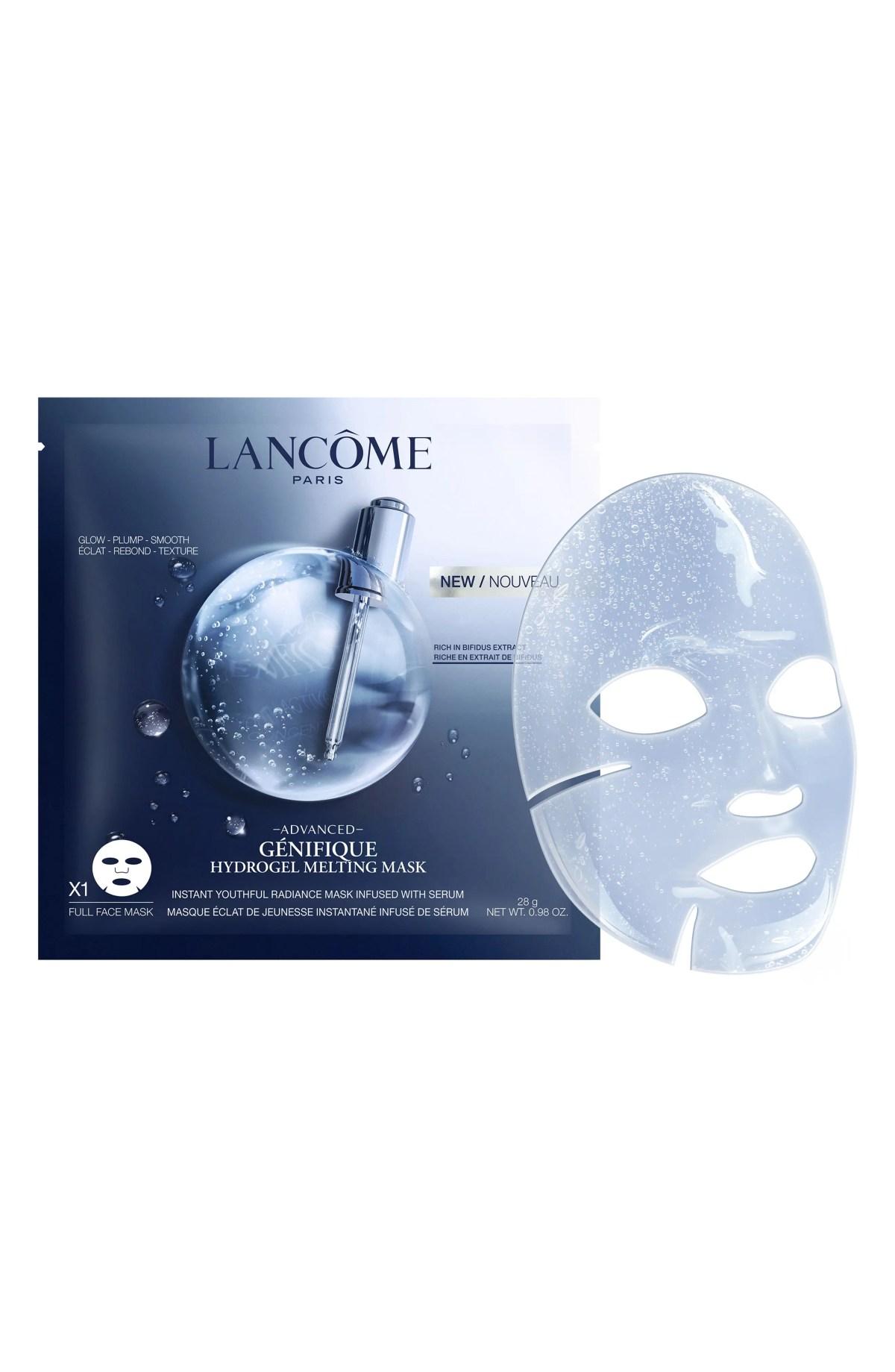 LANCÔME Advanced Génifique Hydrogel Melting Sheet Mask, Main, color, NO COLOR