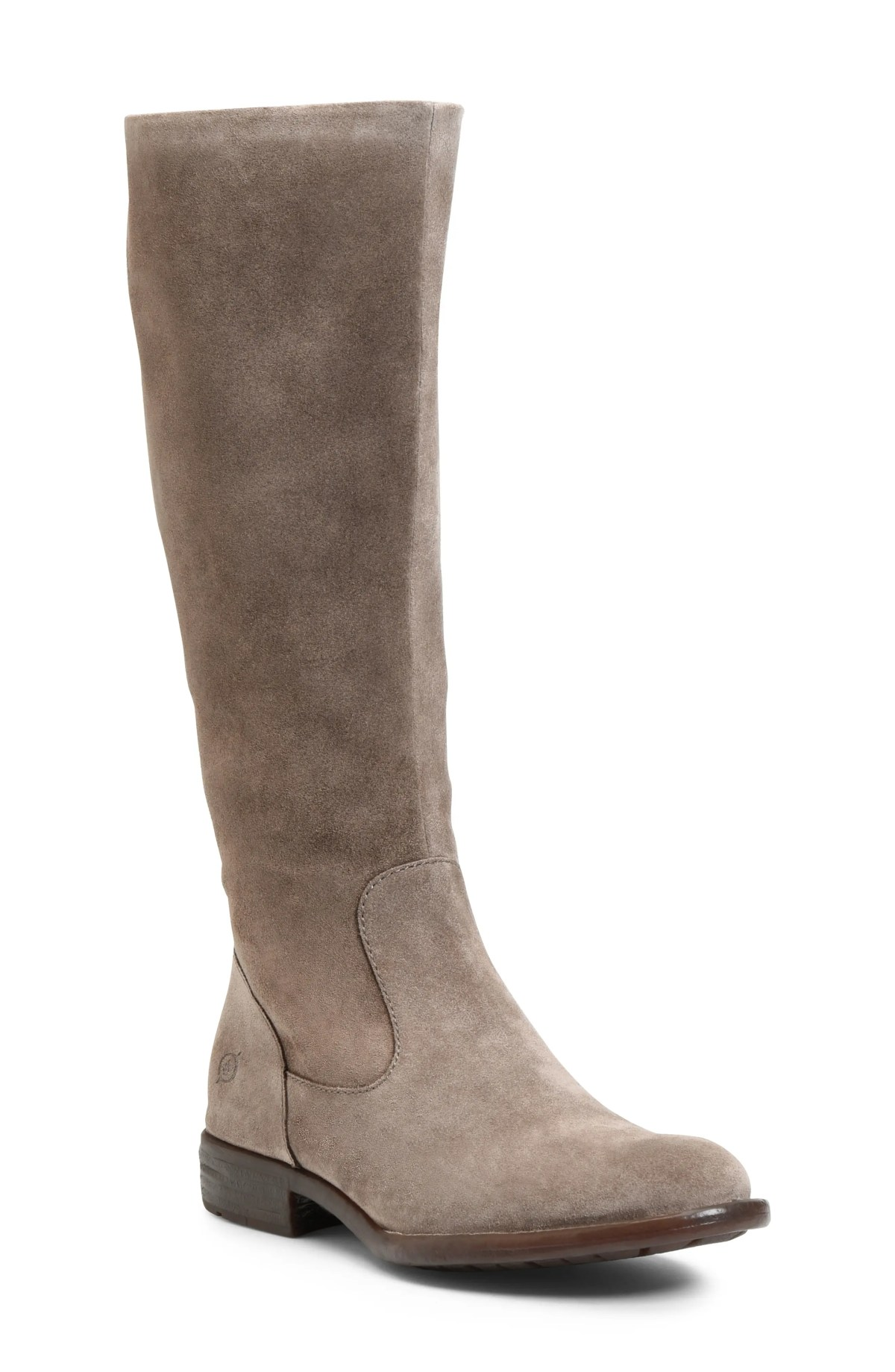 BØRN North Riding Boot, Main, color, TAUPE SUEDE