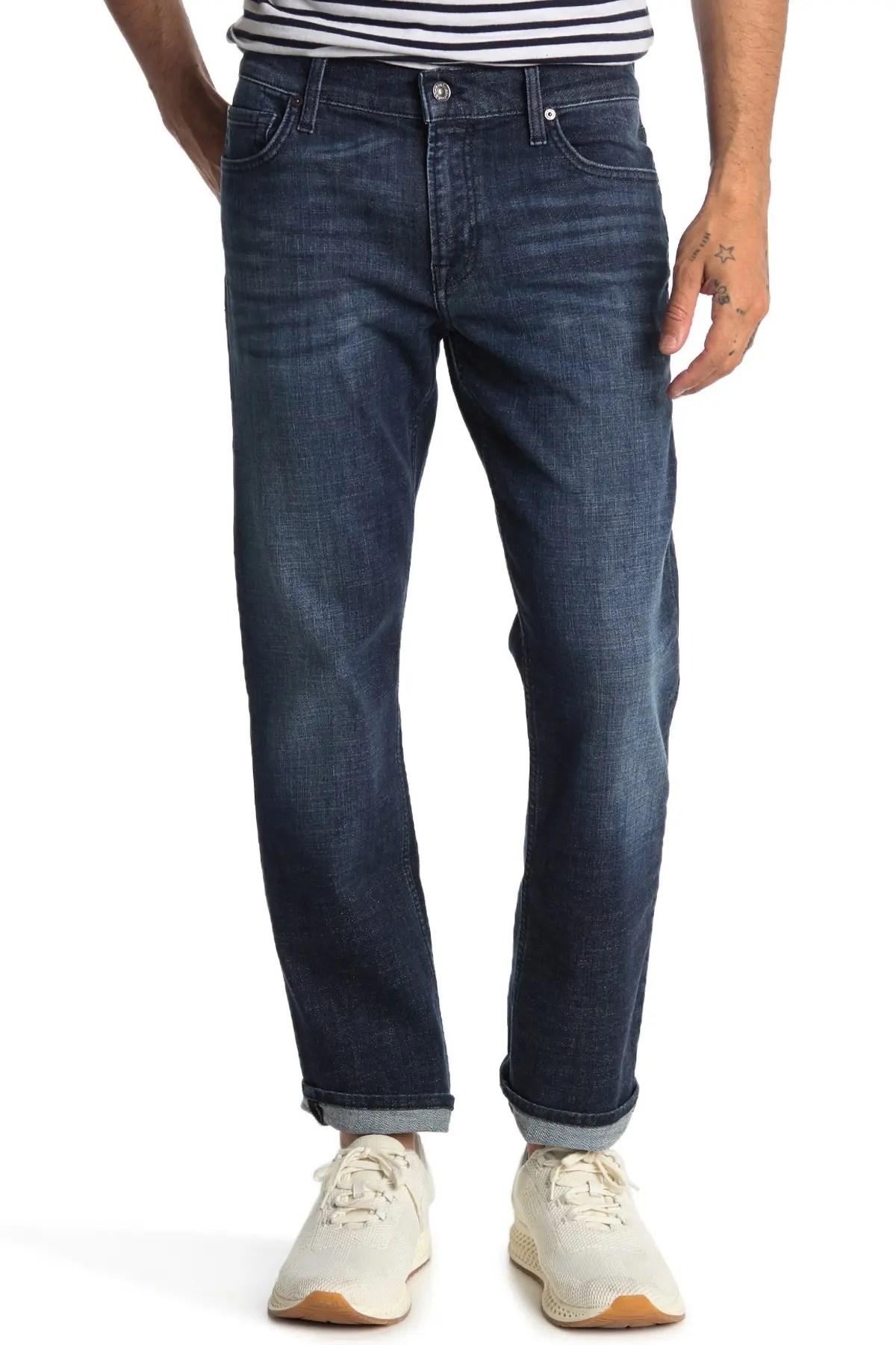 7 for all mankind the standard straight leg jeans nordstrom rack