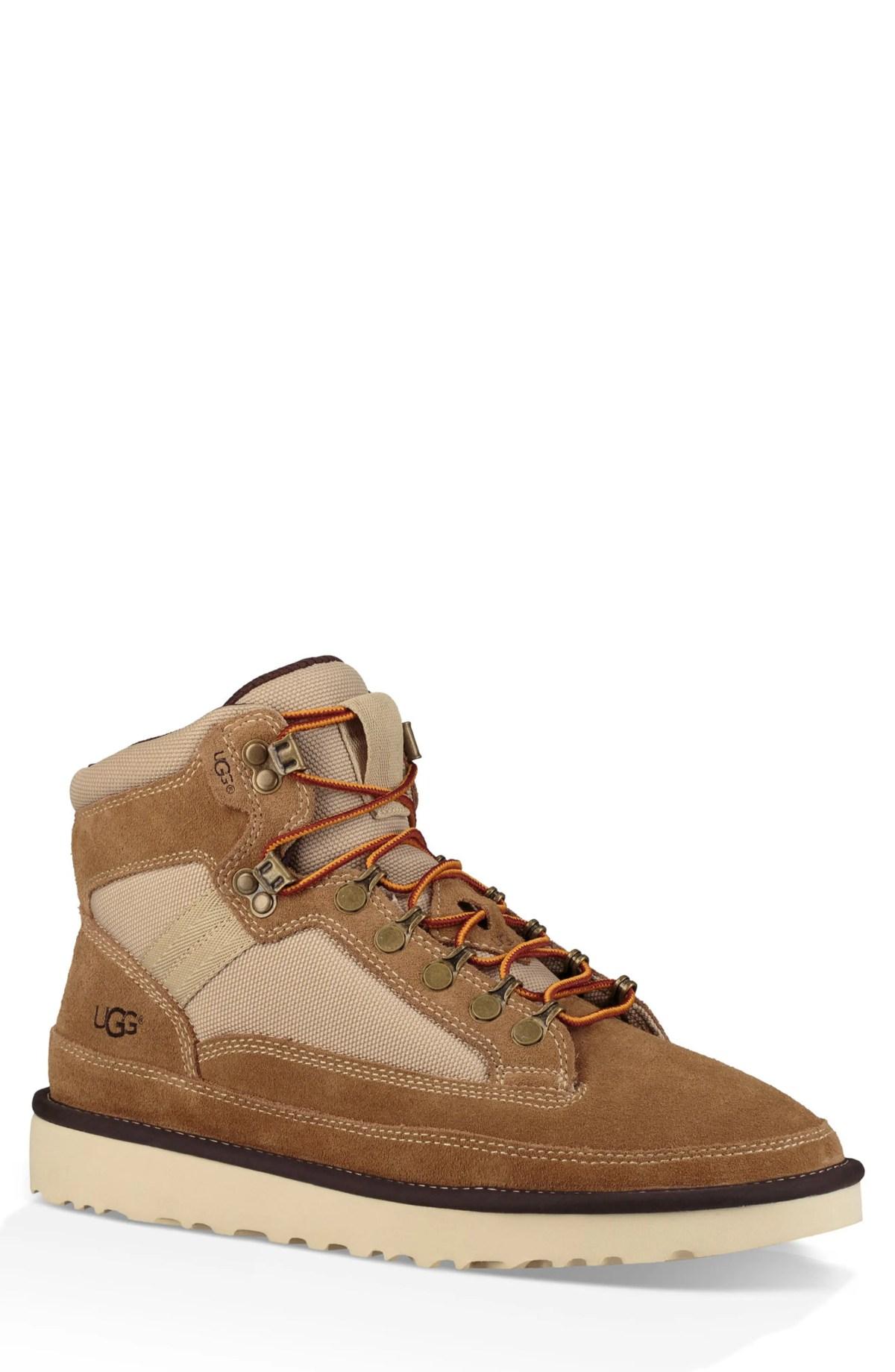UGG<SUP>®</SUP> Highland Hiker Boot, Main, color, CHESTNUT