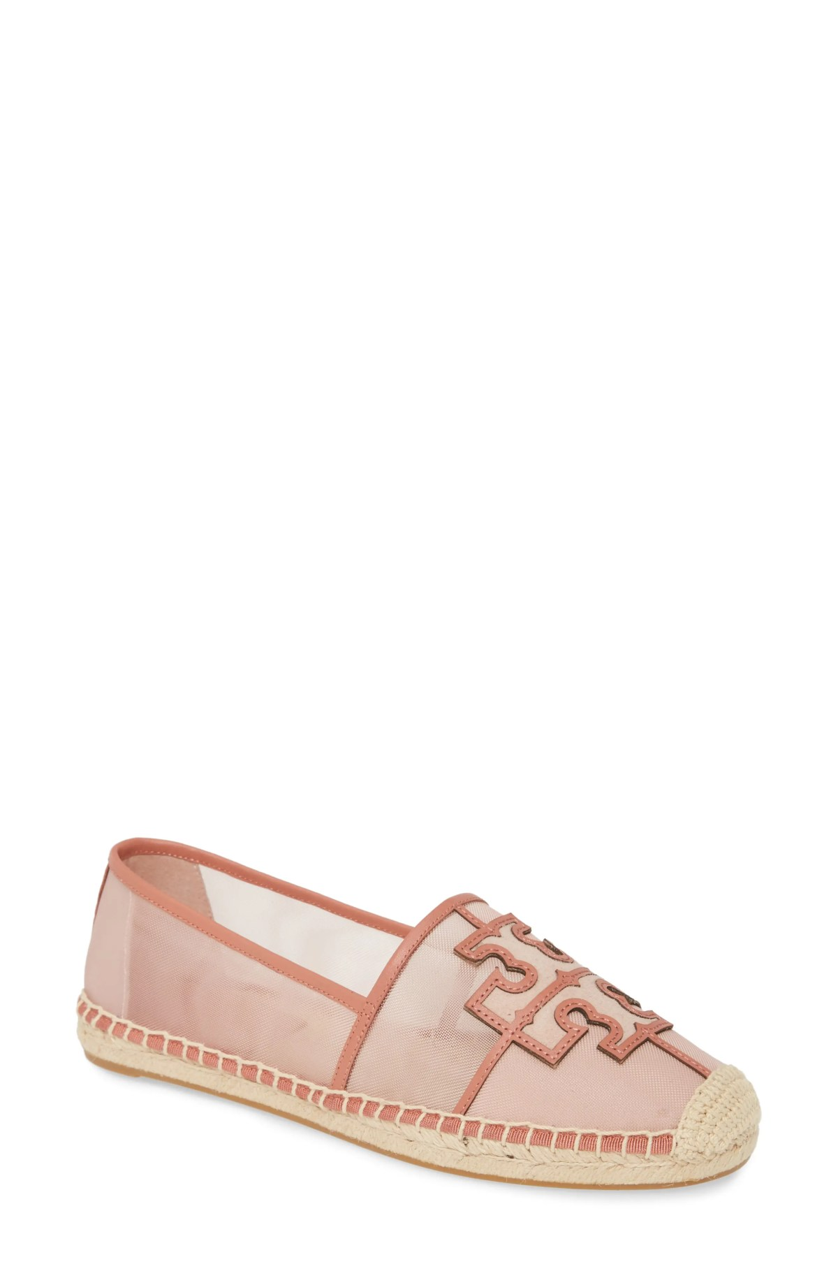 TORY BURCH Ines Espadrille, Main, color, SEA SHELL PINK