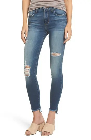 Women's Sts Blue Ellie Step Hem Ripped High Waist Skinny Jeans