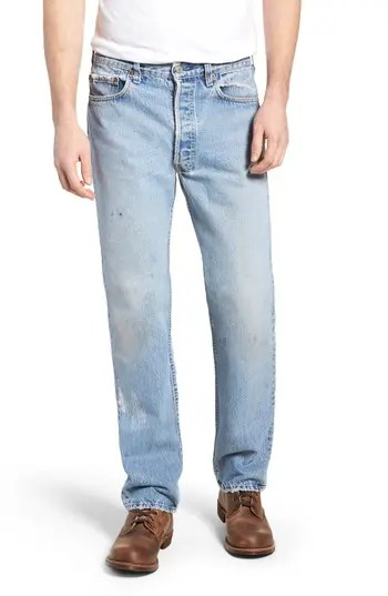 Men s Levi s Authorized Vintage 501(TM) Original Fit Jeans – NORDSTROM –   198.00 e43bca5c631