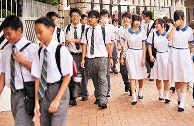 剛開學情緒不佳? 看香港如何疏導學生壓力 升學 開學 香港_新浪教育_新浪網