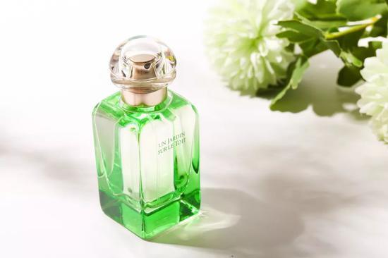 爱马仕屋顶花园香水