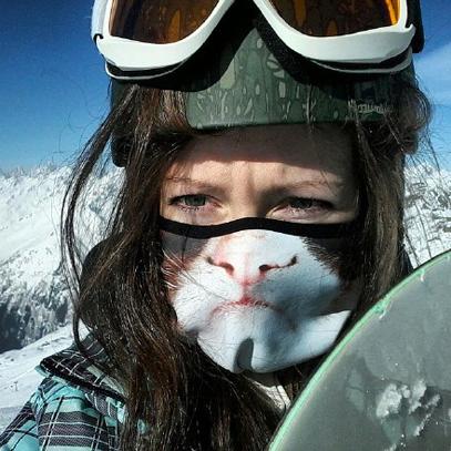 今年冬天的正確出行方式——動物主題防風面罩