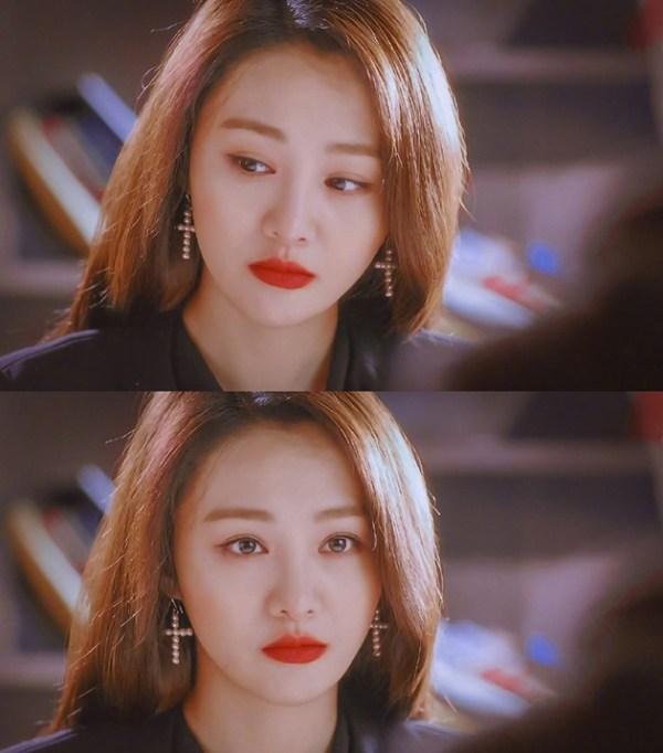 《相爱穿梭千年》韩系淡妆 来源:@郑爽吧 微博