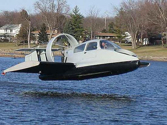 水面效应艇可以飞得很低