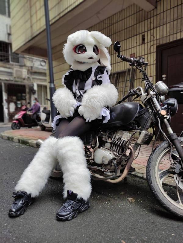 趣味图片:小姐姐黑丝cosplay,这年头外卖都这么整活了吗?-小柚妹站