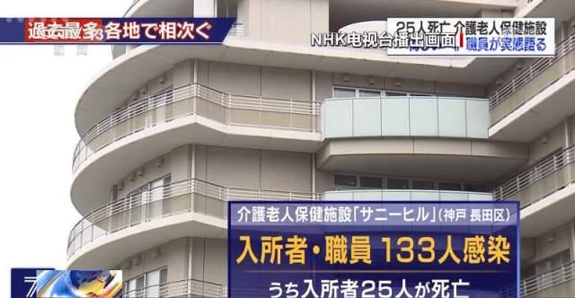 △日本神戶一發生聚集性感染的養老院