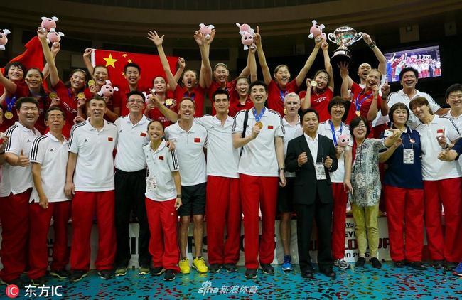 解鎖中國女排2019賽程:8月奧運資格賽 9月世界杯_排球_新浪競技風暴_新浪網