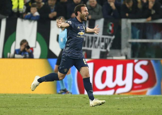 Champions League Manchester United 2-1 reverse win on Juventus 11