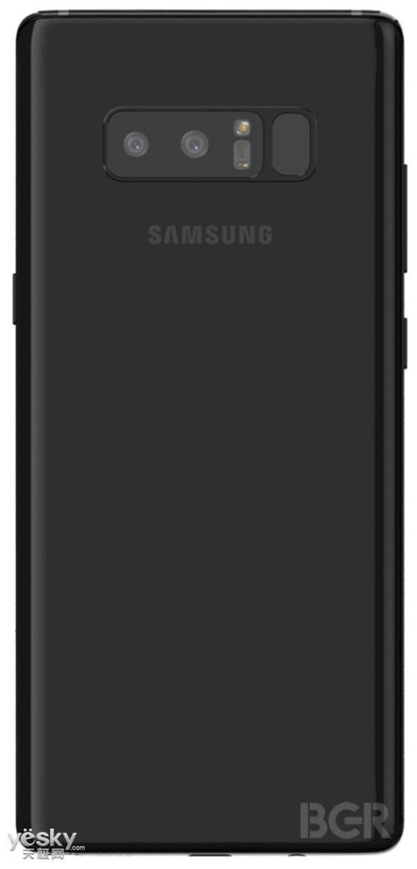 三星Galaxy Note 8全方位无死角渲染图曝光