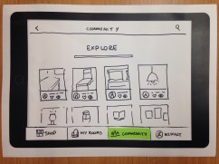 Community feature where you can share, like or remix rooms created by other Ikea customers