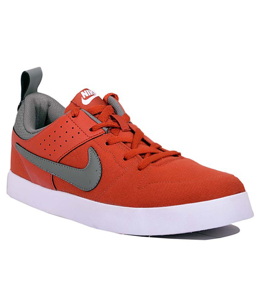 Nike Orange Smart Casuals Shoes Snapdeal Price Casual
