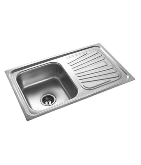 58  OFF on Radium Stainless Steel Kitchen Sink on Snapdeal     Radium Stainless Steel Kitchen Sink