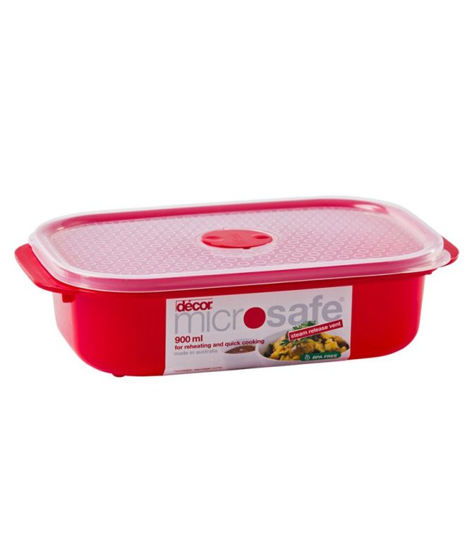 27 Off On Tupperware One Touch Topper 2000 Ml Plastic Food Container Red