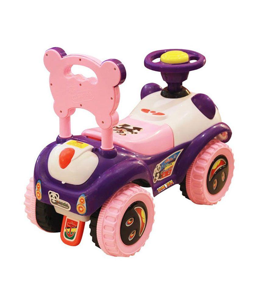 Panda Ruff Rider Pink
