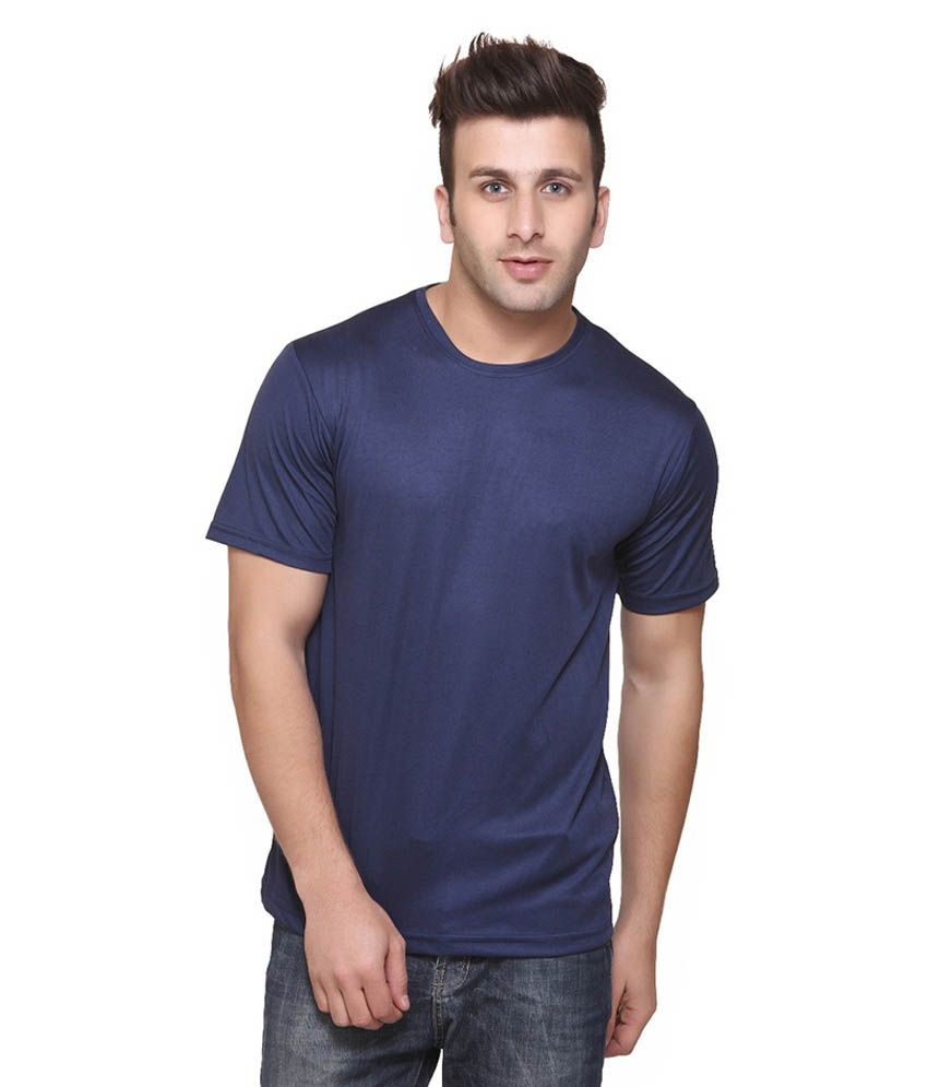 Funky guys navy t shirt at snapdeal for T shirt offer online shopping