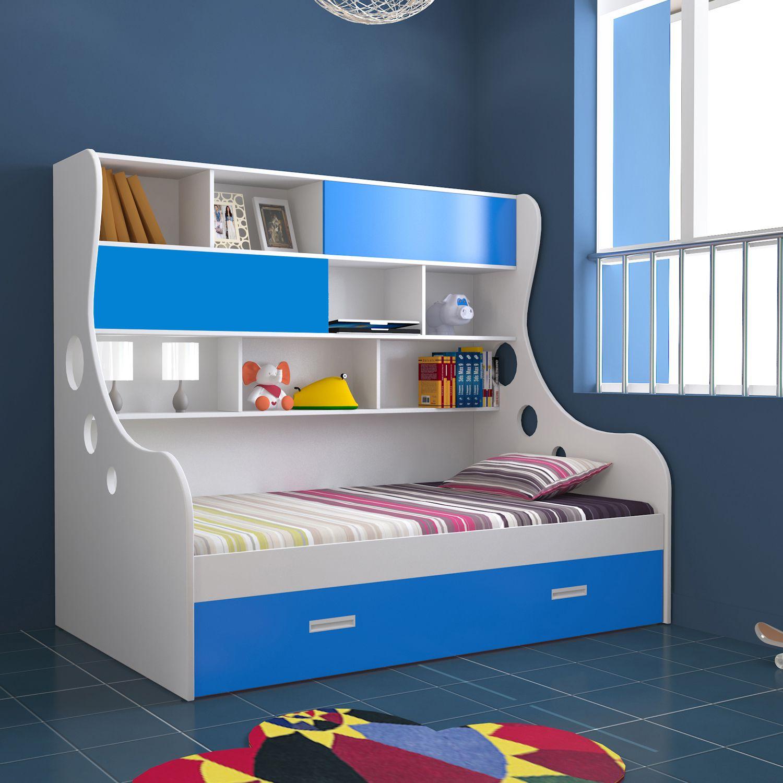 Unicos Arthur I Expandable Kids Single Storage Bed