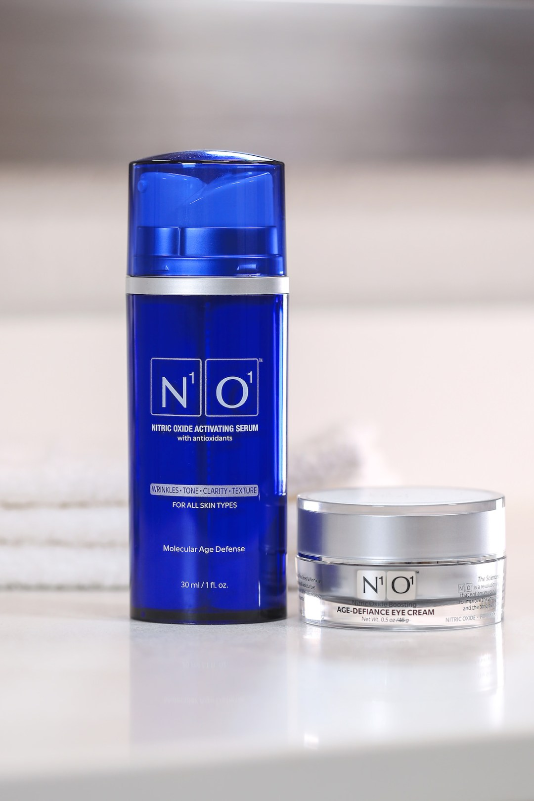 Nitric Oxide Activating AGE-DEFIANCE SERUM WITH FREE EYE CREAM