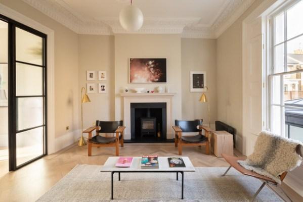 Квартира в историческом здании в Лондоне   ELLEDECORATION