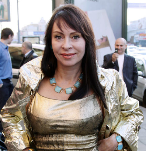 Марина Хлебникова вернулась на сцену после смерти супруга ...