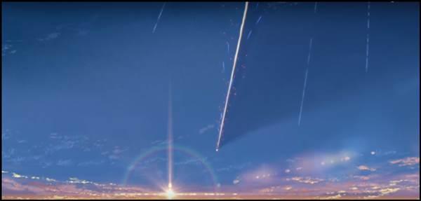 君の名は。 空の風景