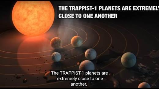 40光年先に地球に似た7つの惑星を発見!1光年でどれくらいの距離?