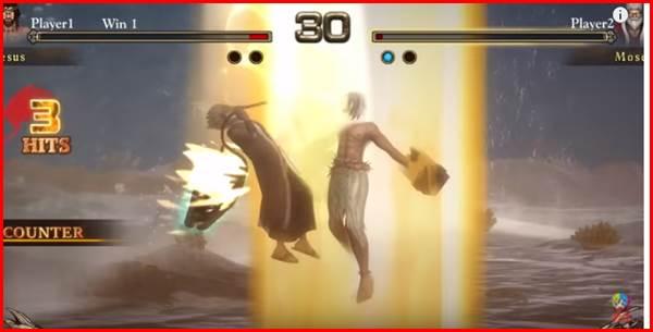 Fight of Gods 対戦画面