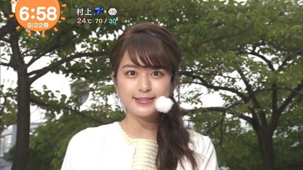 沖田愛加 お天気キャスター