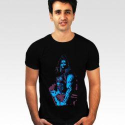 a91447ad Incynk Black Lord Shiva 3 T Shirt Buy Incynk Black Lord Shiva 3 T