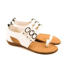 The Fashion Chor Elegant White Sandals
