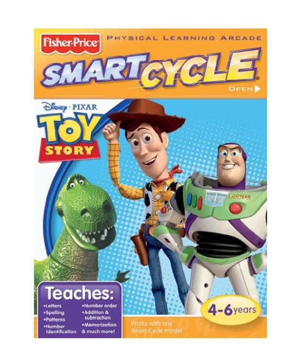 Fisher Price Smart Cycle Software Disney Toy Story