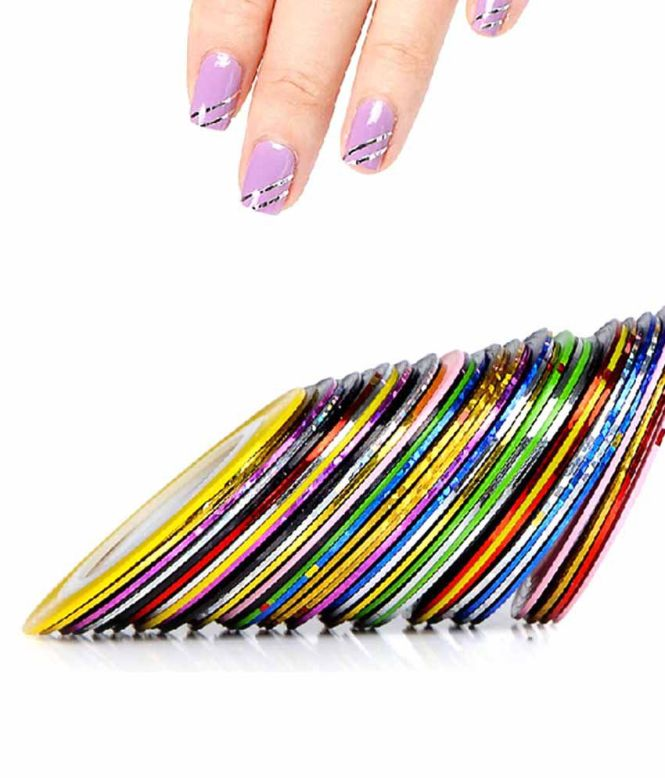 Nail Tips With Tape